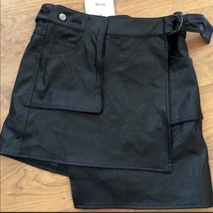 LF faux leather skirt